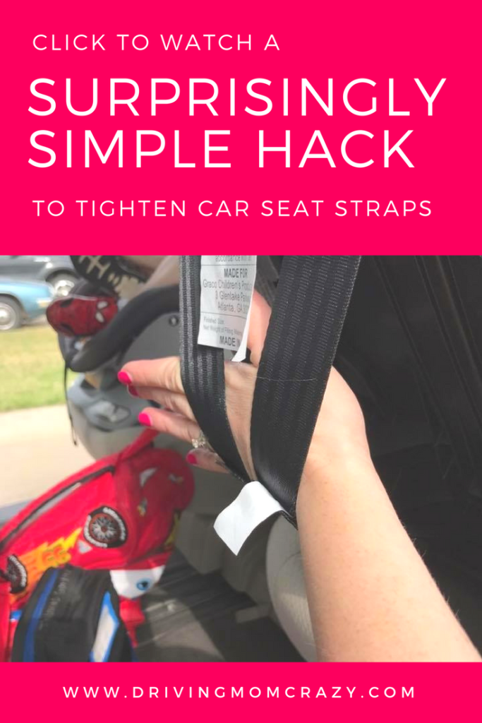 Simple Hack For Car Seat Straps