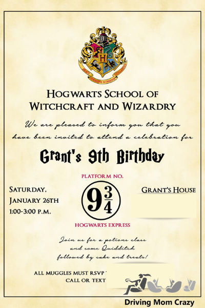 graphic relating to Hogwarts Express Ticket Printable named The Supreme Harry Potter Birthday Celebration Advisor Powering Mother
